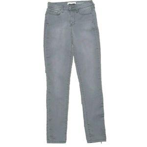 Aeropostale Grey Size 0 Skinny High Waist Jeggings